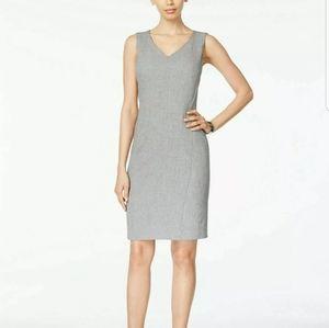 Kasper Sleeveless Grey Wear to Work Dress Size 16